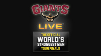 Giants Live: Official World's Strongest Man Tour Finals