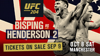 UFC 204 Bisping vs Henderson 2 Ceremonial Weigh-In